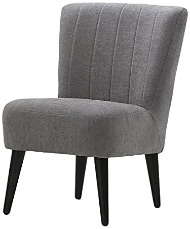 Atlantic Home Collection PINA Cocktailsessel, 64,5 x 78 x 88 cm, grau