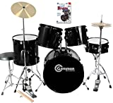 Full Size Complete Adult Drum Set with DVD Earplugs Cymbals