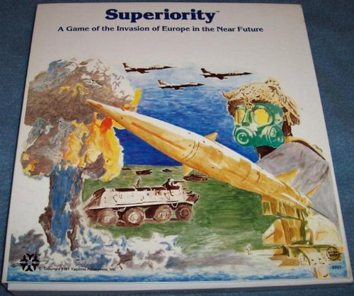 YAQ: Superiority, a Game of the Invasion of Europe in the Near Future Board Game - 1