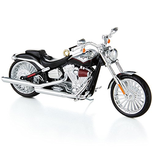 Hallmark Keepsake Ornaments 2014 QX9213 2013 Harley Davidson CVO Breakout #16