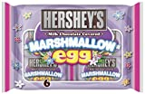 Hershey's Easter Milk Chocolate Covered Marshmallow Eggs, 6-Count Packages (Pack of 4)
