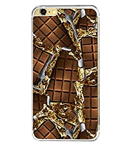 Chocolate 2D Hard Polycarbonate Designer Back Case Cover for Apple iPhone 6