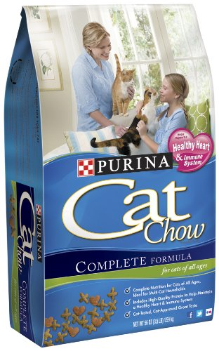 See Purina Cat Chow Complete Formula, 3.50-Pounds (Pack of 3)