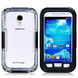 Galaxy S4 Waterproof Case, iThrough 20ft Waterproof, Dust Proof, Snow Proof, Shock Proof Case, Heavy Duty Carrying Cover Case for Samsung Galaxy S4 with Transparent Screen Protector