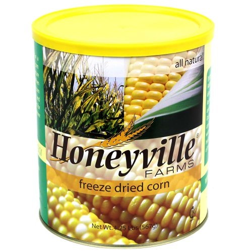 Freeze Dried Sweet Corn - 1.25 Pound Can (Honeyville Freeze Dried Products compare prices)