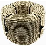 Hanfseil Seil 6mm 220m Trosse 3-litzig gedreht