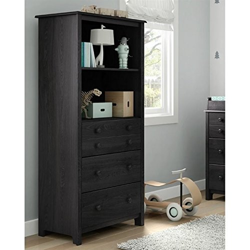Why Choose South Shore Little Smileys Shelving Unit with Drawers, Gray Oak