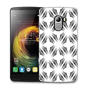 Snoogg White Big Star Designer Protective Phone Back Case Cover For Lenovo Vibe K4 Note