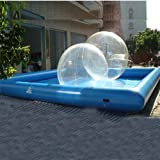 80m² Inflatable Pool for Water Walking Ball ( Fit 6-8 Balls )