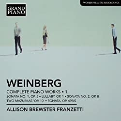 Weinberg: Complete Piano Works Vol 1 (Grand Piano: GP603)