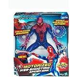 The Amazing Motorized Web Shooting Spider-Man Figure