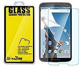 【ShineZone】Google Nexus 6 0.3mm強化ガラス衝撃吸収 硬度9H 液晶保護シール 気泡ゼロ傷付けない  耐指紋、撥油性液晶保護フィルム