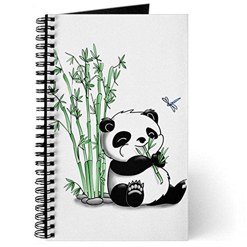 CafePress-Panda-Eating-Bamboo-Journal