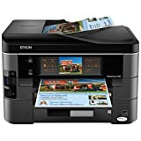 Epson WorkForce 840 Wireless All-in-One Color Inkjet Printer, Copier, Scanner, Fax (C11CA97201)