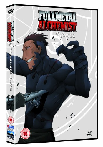 Fullmetal Alchemist 9 - Pain And Lust [DVD]