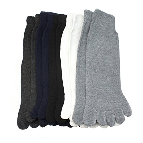 5 Pairs Fashion Men Unisex Five Fingers Separate Toe Socks Comfortable Warm Hot