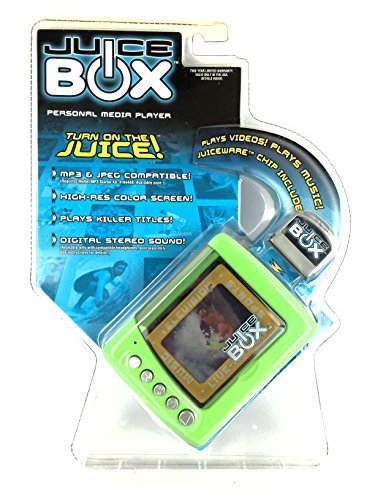 Juice BOX Personal Media Player - Lime Green