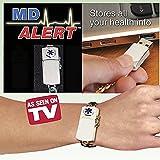 MD Alert Medical History Bracelet with USB