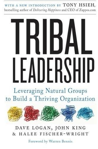 Buchseite und Rezensionen zu 'Tribal Leadership: Leveraging Natural Groups to Build a Thriving Organization' von Dave Logan