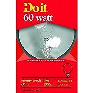 Do it Decorative Globe Light Bulb-60W CLR 3-1/8GLOBE BULB