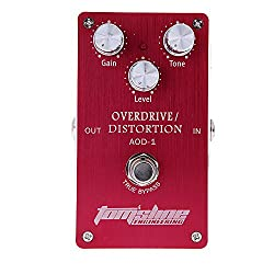 Andoer Aroma AOD-1 Overdrive Distortion Electric Guitar Effect Pedal Aluminum Alloy Housing Ture Bypass by Andoer