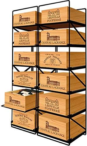 MODULORACK La seule solution pour stocker 12 caisses de vins et 144 bouteilles - ACI-MOD511V