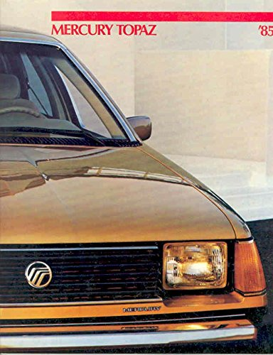 1985 Mercury Topaz GS Sales Brochure