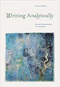 Read Writing Analytically. David Rosenwasser Jill Stephen PDF Full Ebook
