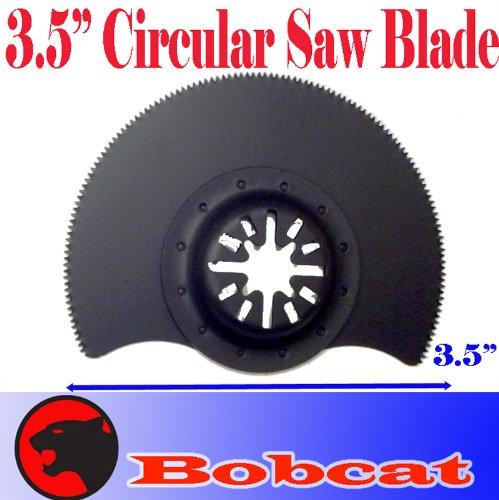 "3.5"" Sk5 Segmented Circular Cut Oscillating Multi Tool Saw Blades For Fein Multimaster Bosch Multi-X Craftsman Nextec Dremel Multi-Max Ridgid Dremel Chicago"