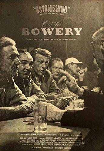 On the Bowery R2010 Original USA One Sheet Movie Poster Lionel Rogosin Ray Salyer