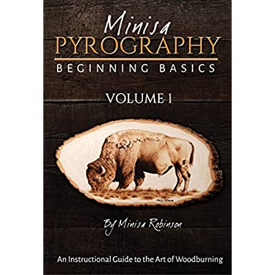 Minisa Pyrography DVD Beginning Basics of Woodburning Volume 1