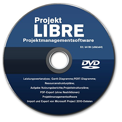 "LIBRE Project 2015 Professional Vollversion deutsch (auf DVD) Projektplanungstool ""Microsoft-Project-Alternative"" NEU, PC"