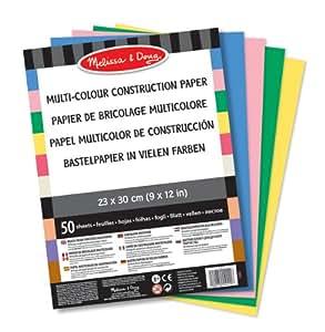 Melissa & Doug Multi-Colour Construction Paper