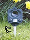 Pestbye Battery Operated Electronic Ultrasonic Cat Repeller Repellent Scarer