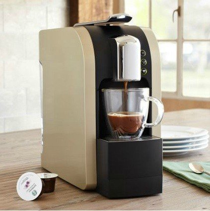 One Cup Starbucks Coffee Maker : 5 Star: For Sale Starbucks Verismo Single Cup Coffee And Espresso Maker 11023258 Champagne Reviews