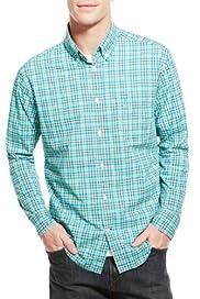 Blue Harbour Pure Cotton Mini Checked Shirt [T25-5268B-S]
