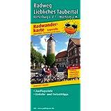 Radwanderkarte Radweg Liebliches Taubertal - Leporello-Falzung: Mit Ausflugszielen, Einkehr- & Freizeittipps, wetterfest, reissfest, abwischbar, GPS-genau. 1:50000 [Folded Map] (Landkarte)