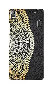 SWAG my CASE Printed Back Cover for Lenovo A7000