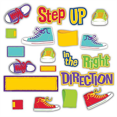 Eureka Step in The Right Direction Mini Bulletin Board Set (847615) - 1