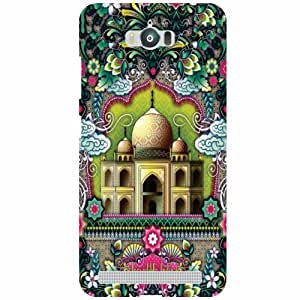 Back Cover For Asus Zenfone Max ZC550KL (Printed Designer)