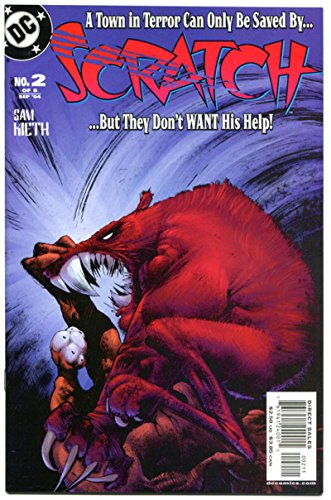 SCRATCH #1 2 3 4 5, NM, Sam Kieth, Batman, Monsters, Werewolf, 2004