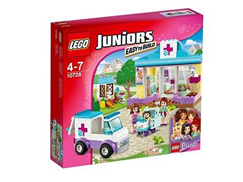 LEGO - 10728 - Juniors   - Jeu de Construction - La Clinique Vétérinaire de Mia