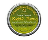 Battle Balm - Demon Strength - Natural Herbal Pain Relief for Arthritis, Sciatica, Back, Neck, Leg, Shoulder - Also Relieves and Workout Soreness (2 oz.)