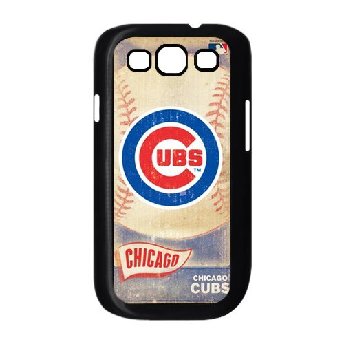 Chicago Cubs MLB Vintage Style Durable Plastic Back Case for Samsung Galaxy S3 I9300 I9308 I939 at Amazon.com