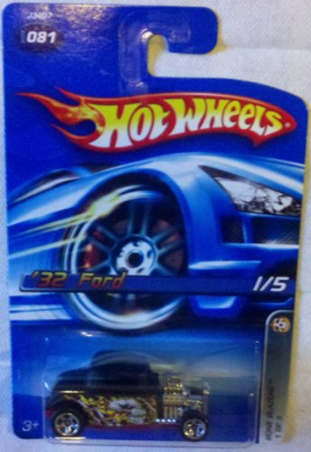 Hot Wheels 2006 Collector No. 081 - '32 Ford - 1 of 5 - Bone Blazers - 1