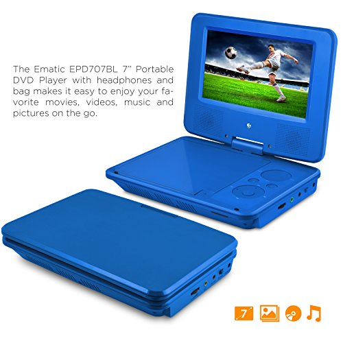 DVD Player, Ematic 7 inch