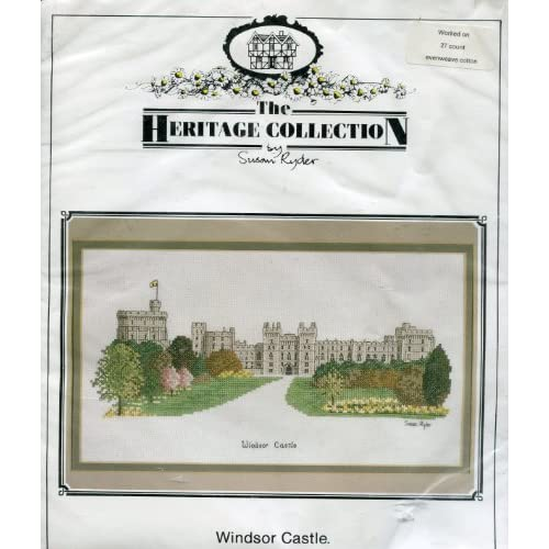 Collection by Susan Ryder Counted Cross Stitch Kit ~ Windsor Castle
