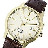 セイコー SEIKO キネティック KINETIC キネティッククオーツ メンズ 腕時計 SKA744P1 アイボリー [並行輸入品]