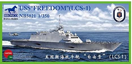 Bronco NB5021 USS Freedom LCS-1 1:350 Plastic Kit Maquette