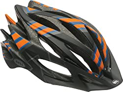 Bell Sweep Helmet Matte Black/Orange/Blue Talon, L by Bell